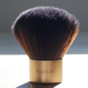 Gold Kabuki Brush